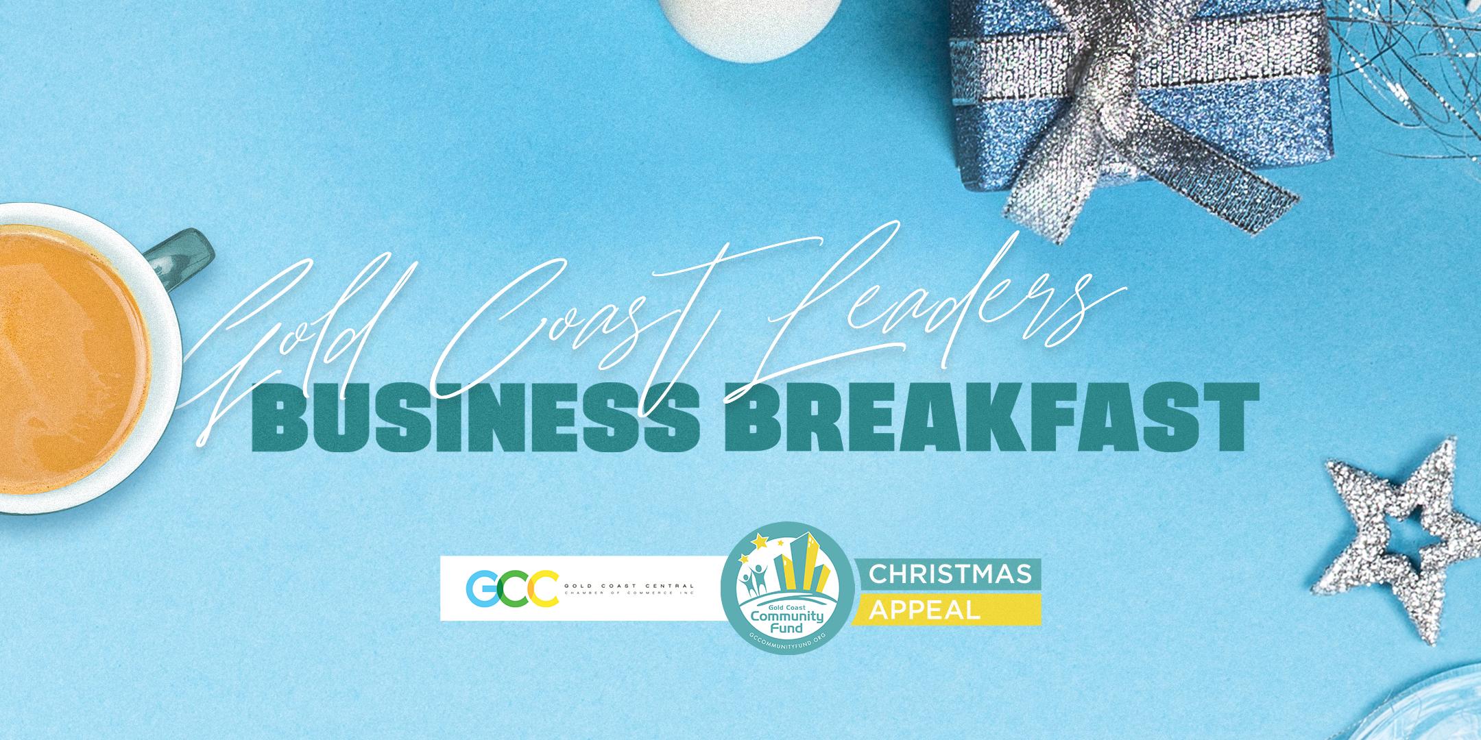 Gold Coast Leaders Business Breakfast 2021